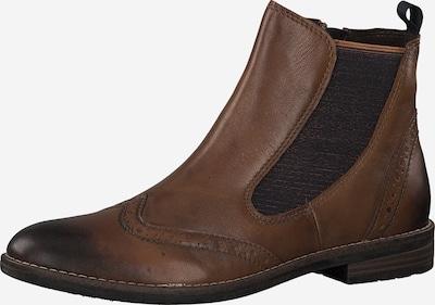 MARCO TOZZI Chelsea boots in de kleur Bruin: Vooraanzicht