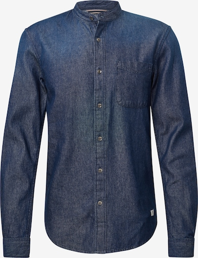 TOM TAILOR DENIM Jeanshemd in blue denim: Frontalansicht