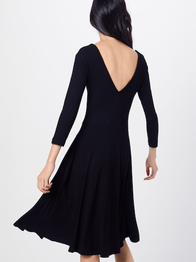 ABOUT YOU Obleka 'Lisette' | črna barva: Pogled od zadnje strani