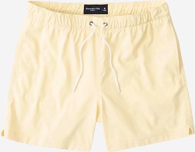 Abercrombie & Fitch Zwemshorts in de kleur Geel, Productweergave