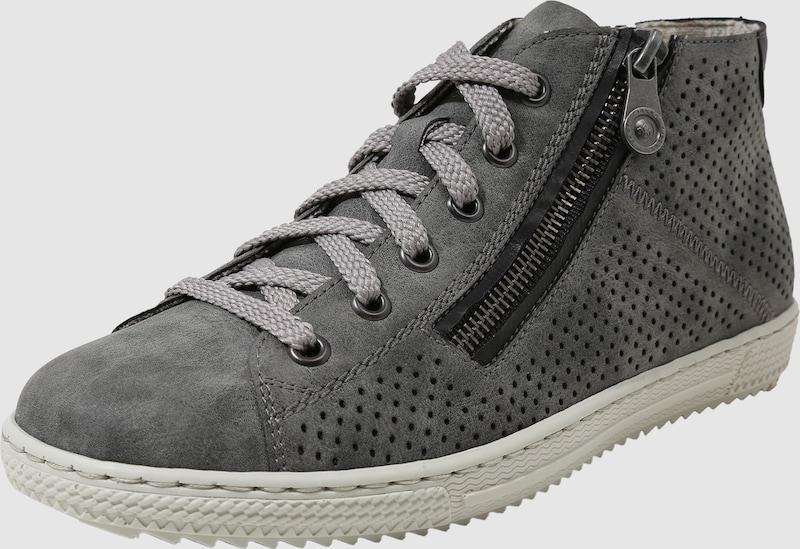 RIEKER Hohe Sneaker mit Reißverschluss