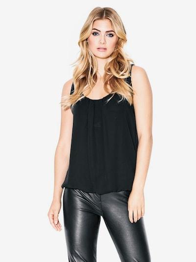 heine Blusentop in schwarz, Modelansicht