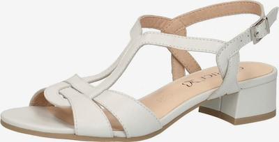 CAPRICE Sandaletten in weiß, Produktansicht
