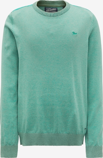 Petrol Industries Pullover in jade: Frontalansicht