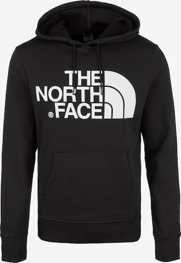 THE NORTH FACE Majica | črna / bela barva, Prikaz izdelka