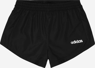 fekete / fehér ADIDAS PERFORMANCE Sportnadrágok: Elölnézet