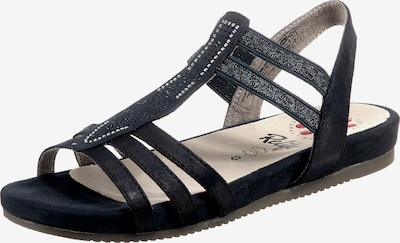 Relife Komfort-Sandalen in blau, Produktansicht