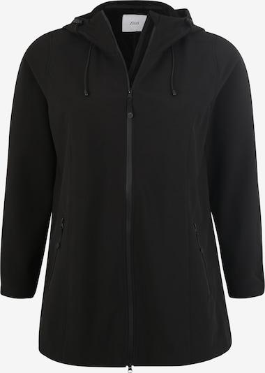 Zizzi Softshelljacke in schwarz, Produktansicht