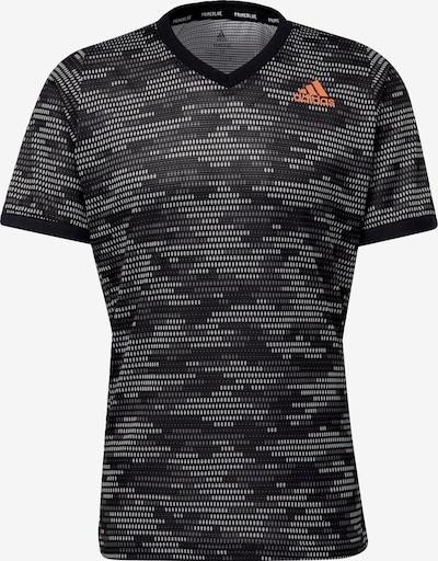 ADIDAS PERFORMANCE Functioneel shirt in de kleur Antraciet / Zwart, Productweergave