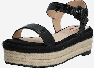 MTNG Sandale 'NEW TESSY' in sand / schwarz, Produktansicht