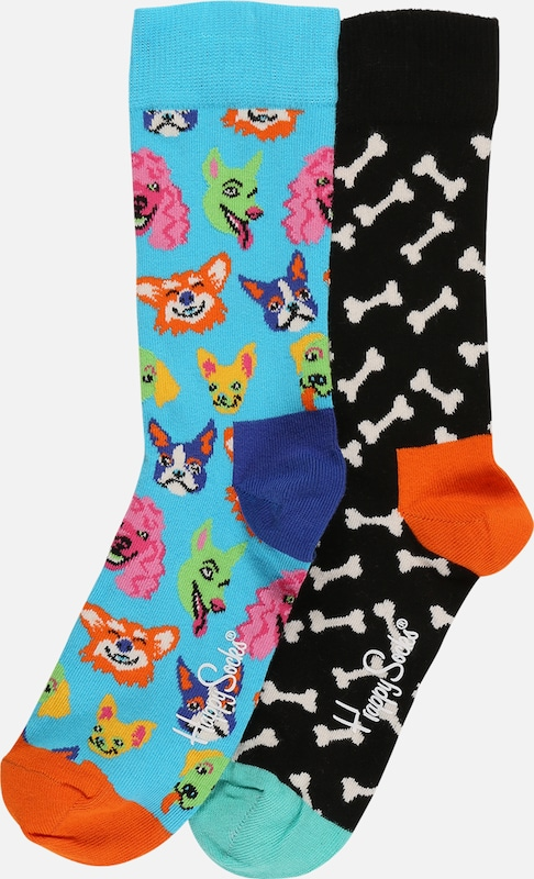 Happy Socks Socken 'Dog' in mischfarben, Produktansicht