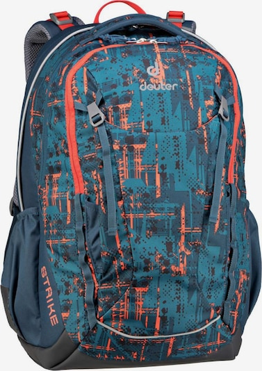 DEUTER Rucksack  ' Strike ' in marine / türkis / orange, Produktansicht