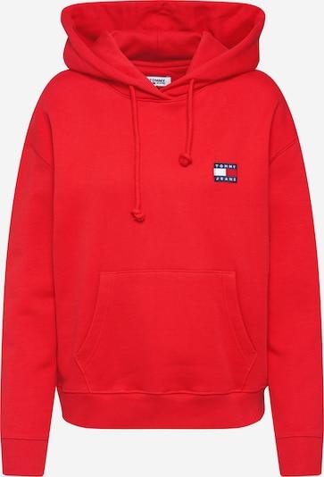Bluză de molton Tommy Jeans pe roșu, Vizualizare produs