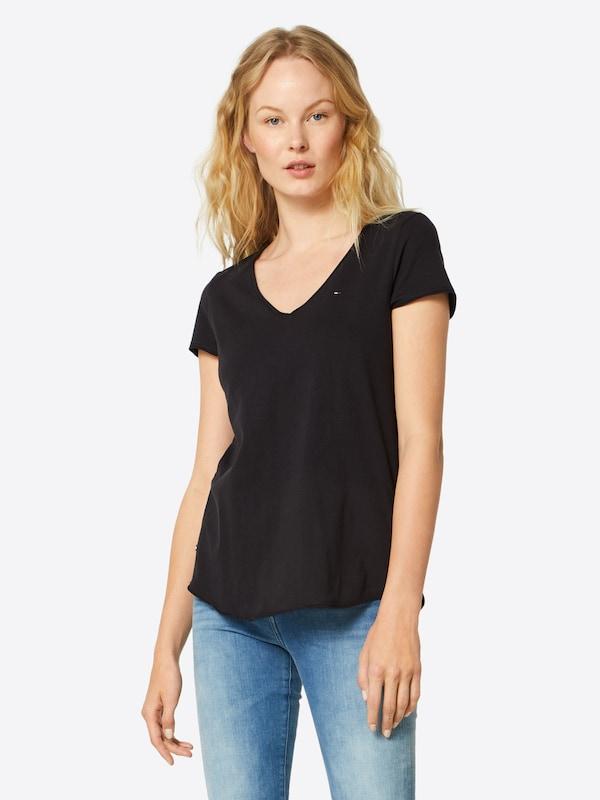 T Noir Jeans Tommy shirt En K1J3TFcl