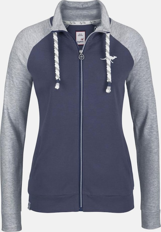 KangaROOS Shirtjacke in marine   graumeliert   weiß weiß weiß  Neuer Aktionsrabatt 8a4847