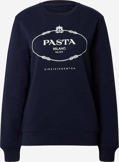 EINSTEIN & NEWTON Sweatshirt 'Klara Geist' in navy / weiß, Produktansicht