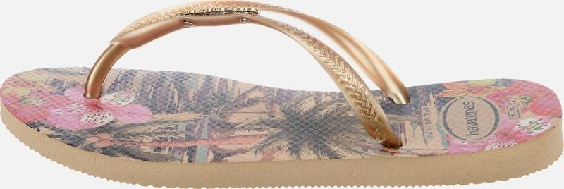 Haltbare Mode billige Schuhe HAVAIANAS | Zehensandalen 'SLIM TROPICAL' TROPICAL' TROPICAL' Schuhe Gut getragene Schuhe f3a049