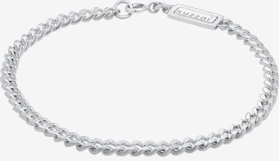 KUZZOI Armband Basic Armband in silber, Produktansicht