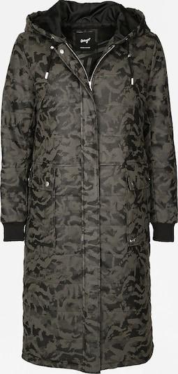 Maze Mantel 'Canoga' in khaki / schwarz, Produktansicht