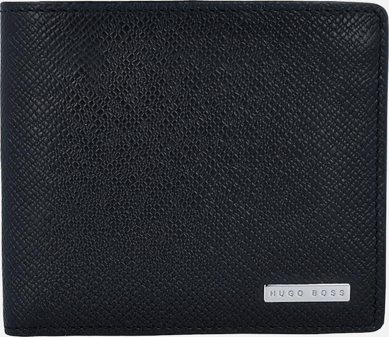 BOSS Leder-Geldbörse 'Signature' 11 cm