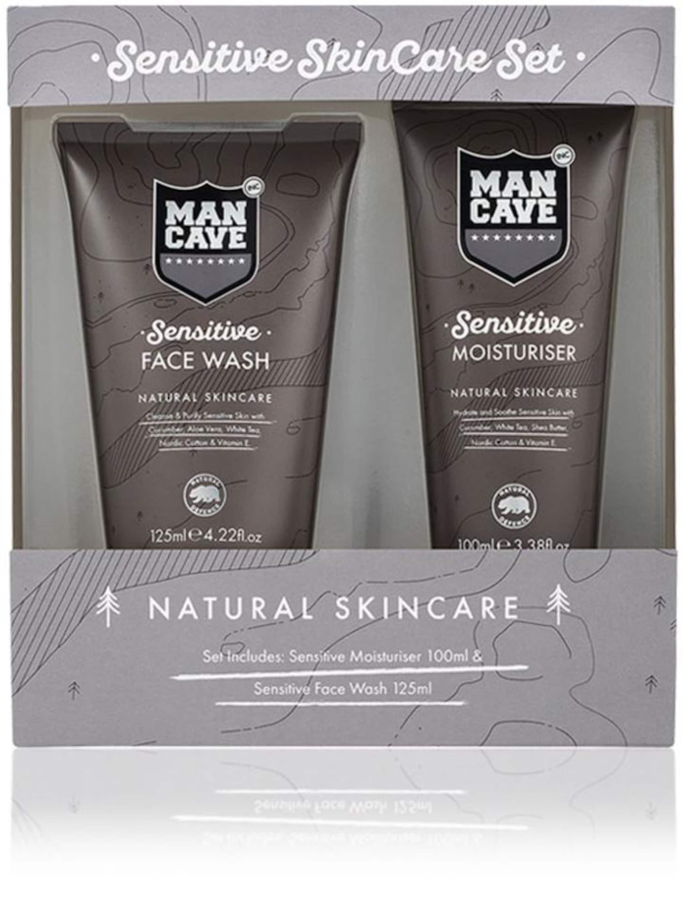 'sensitive Empfindliche Set'Gesichtspflegeset tlgIn Mancave Für Skincare Taupe Männerhaut2 nwNP0OXk8