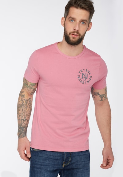 Petrol Industries T-Shirt in rosa: Frontalansicht