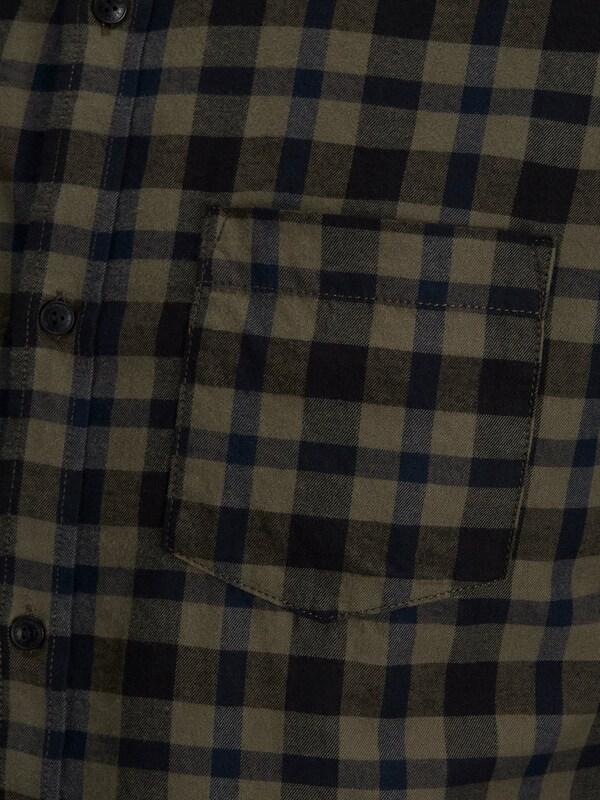 Jack & Jones Kariertes Langarmhemd
