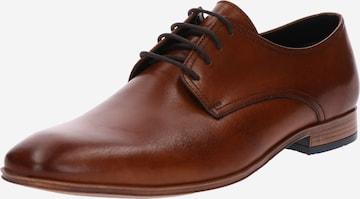 ABOUT YOU Обувки с връзки 'Alexander' в кафяво