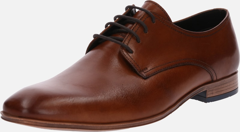 ABOUT YOU Halbschuhe 'Alexander' in cognac, Produktansicht