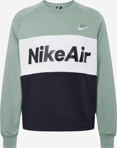Nike Sportswear Sweatshirt in pastellblau / schwarz / weiß, Produktansicht