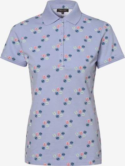 Marie Lund Poloshirt in blau, Produktansicht