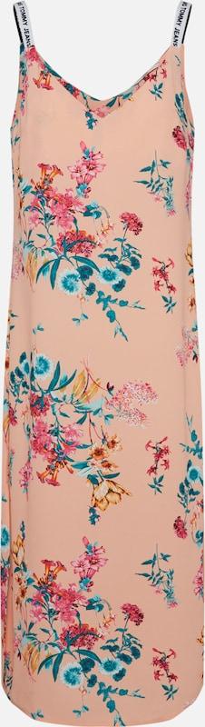 Print Tommy En Jeans CouleursPoudre Mélange Strap' Robe D'été 'floral De 08nwOPk