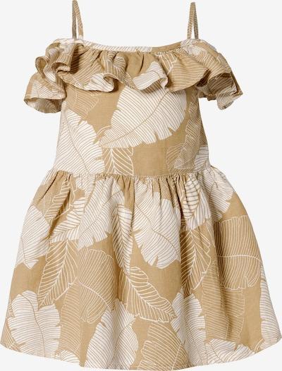 MEXX Kleid in beige / weiß, Produktansicht
