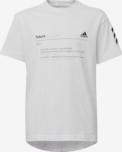 ADIDAS PERFORMANCE T-Shirt 'A XFG' in grau / schwarz / weiß, Produktansicht