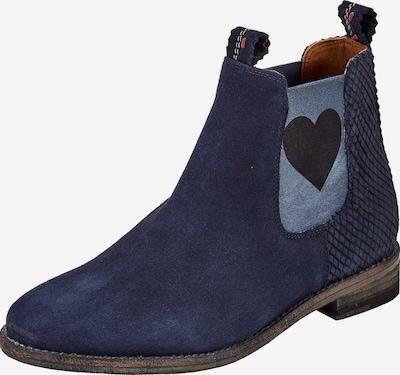 Crickit Chelsea Boot 'JULIA' mit Herz in blau, Produktansicht