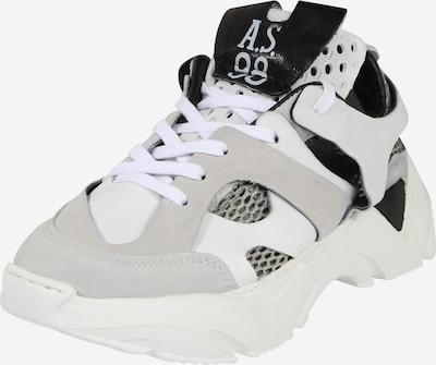 A.S.98 Sneaker 'MONSTER' in grau / weiß, Produktansicht