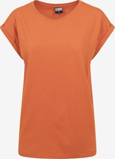 Urban Classics Curvy T-Shirt 'Extended Shoulder' in dunkelorange, Produktansicht