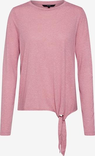 VERO MODA Shirt 'VMLEA LUA LS O-NECK KNOT TOP JRS LCS' in pink, Produktansicht