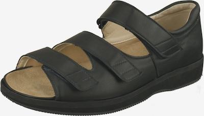 Natural Feet Sandale 'Marokko' mit anpassbarer Laufsohle in schwarz, Produktansicht