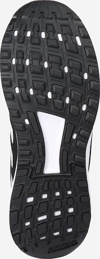 ADIDAS PERFORMANCE Sport-Schuhe 'Duramo 9 K' in schwarz / weiß: Ansicht von unten