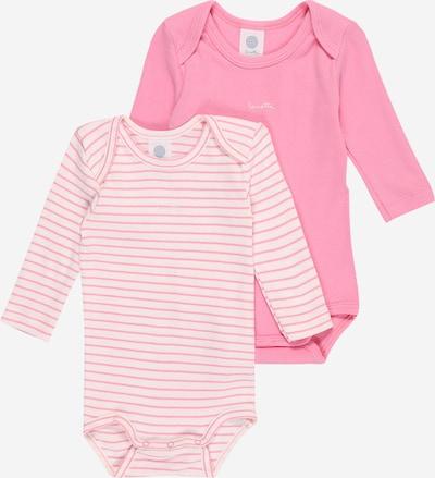 SANETTA Strampler 2er Set in rosa, Produktansicht
