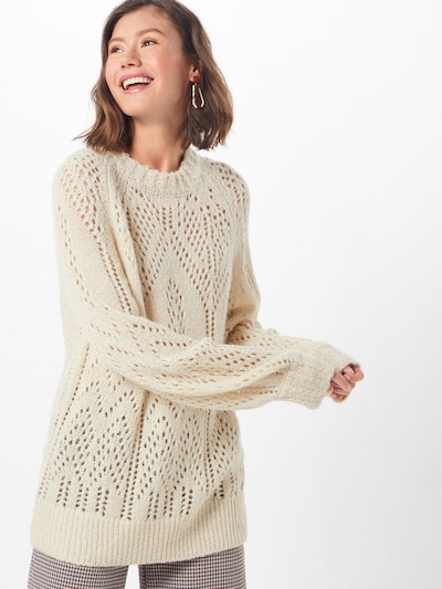 Pepe Jeans Pullover  'marzella' in creme, Modelansicht