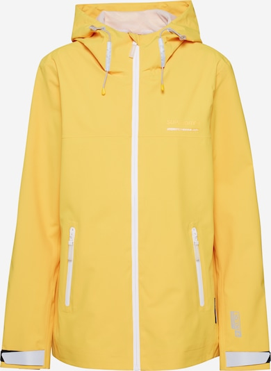 Superdry Functional jacket 'ESSENTIALS HARPA' in Yellow, Item view
