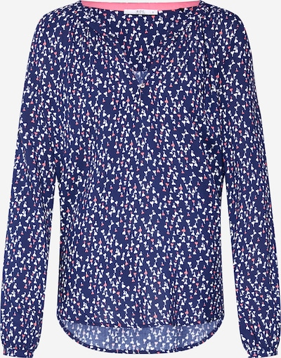 EDC BY ESPRIT Bluse 'CORE FLUENT' in dunkelblau, Produktansicht