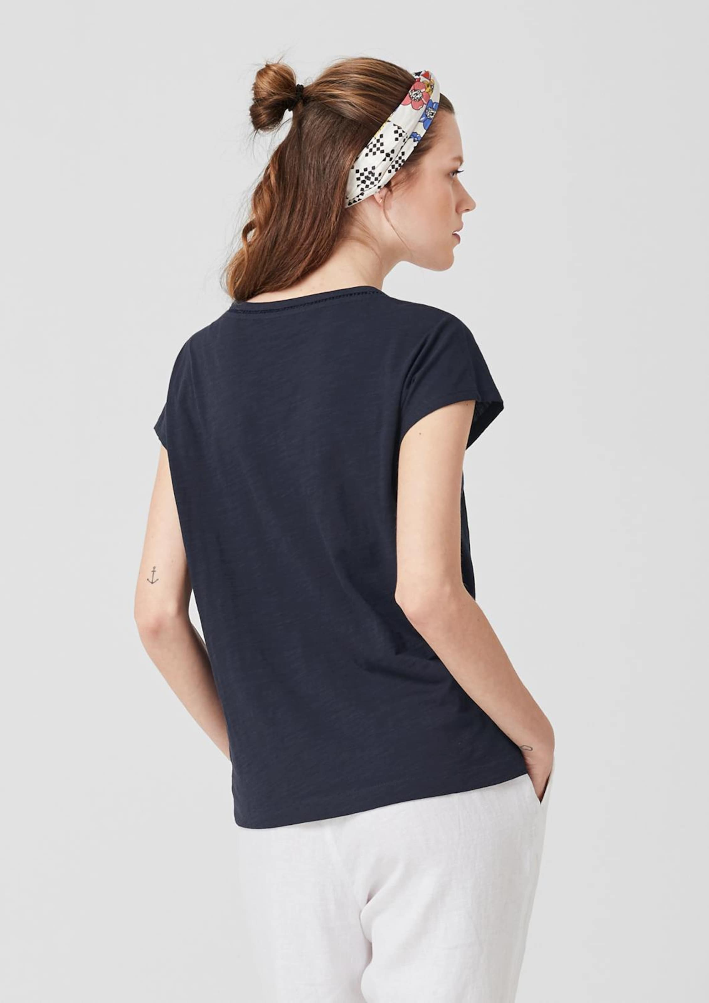 T S oliver Kobaltblau shirt In WDIEH29