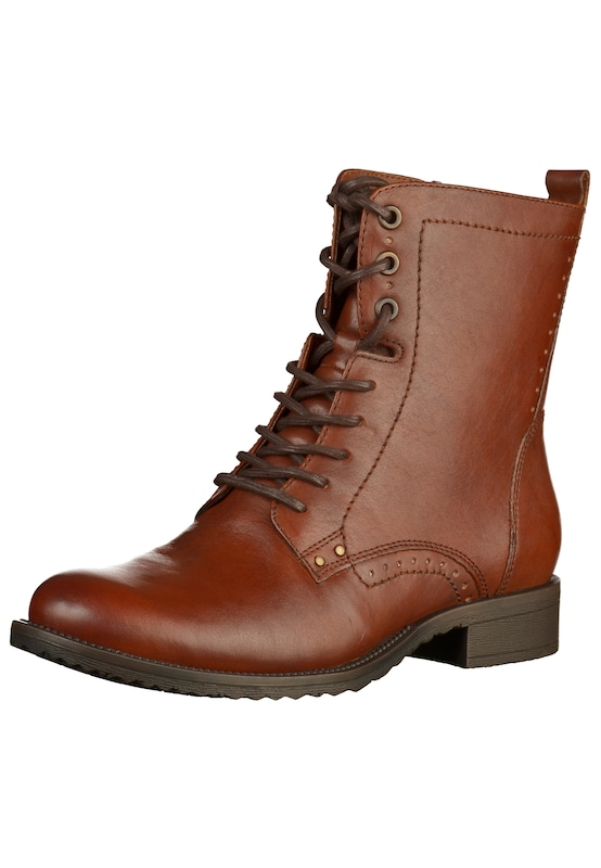 Bottines À Tamaris Ocre En Lacets 8RxxqwdZ