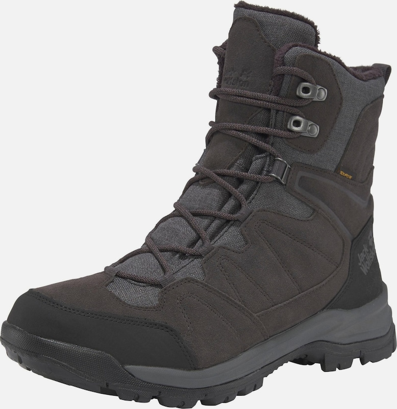 JACK WOLFSKIN Outdoorwinterstiefel 'Thunder Bay Texapore High' in anthrazit / schwarz, Produktansicht