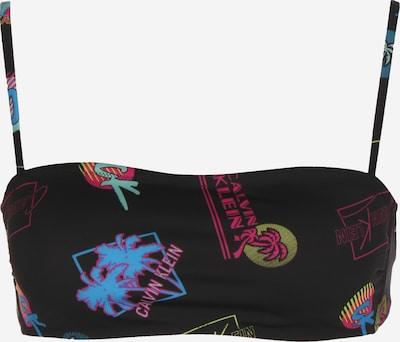Calvin Klein Underwear Bikini ' Bandeau W ' en mélange de couleurs / noir, Vue avec produit