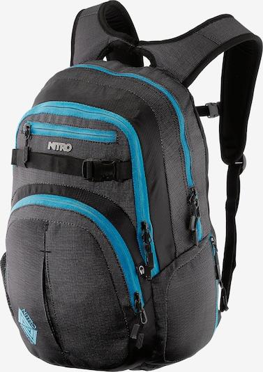 NitroBags Sac à dos 'Snowboards Chase' en noir, Vue avec produit