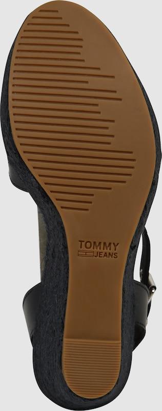 Tommy Sternen Jeans | Keilsandale mit Sternen Tommy daa98b